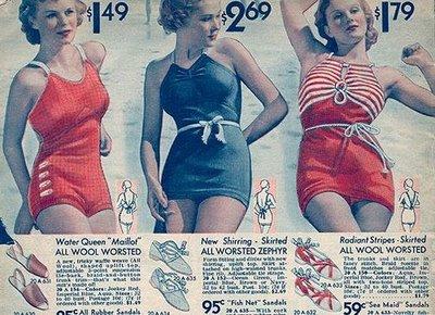 Swimwear 1930